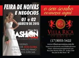 Villa Rica Fashion Noivas 2015